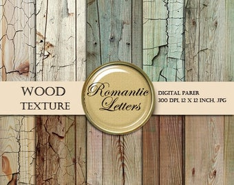 Sale 60% Digital paper Wood Grain texture Backgrounds wood scrapbook paper  vintage wood textured backdrop newborn digital backdrop paper