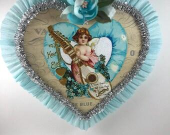 Victorian Cherub  Valentine