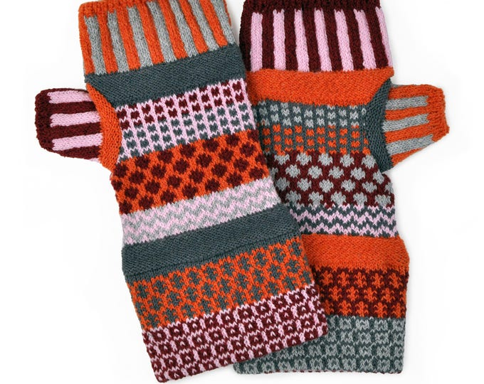 Solmate Accessories - Persimmon Fingerless Mittens Limited - Available to order through midnight November 27th!