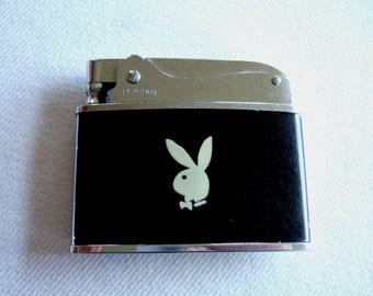 Vintage Playboy Bunny Cigarette Lighter Elegant Classy Collectible Hugh Hefner Memorabilia Cool Gift for Him Christmas Gift Unique Gift Idea