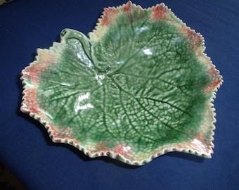 Bordallo Pinheiro Portugal Leaf Dish