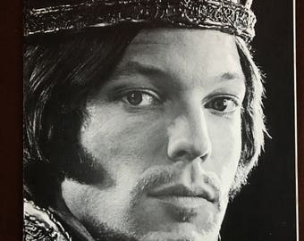Richard Chamberlain in the Seattle Repertory Theatre's Richard the Second.
