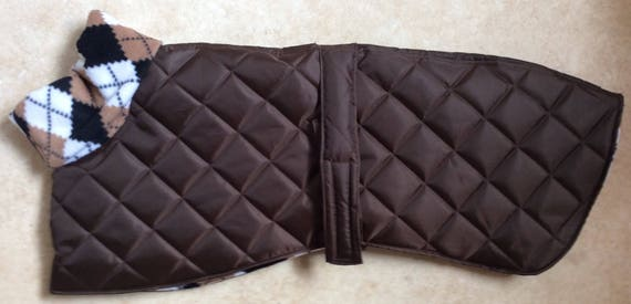 Readymade whippet coats