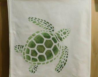 Green Loggerhead Turtle