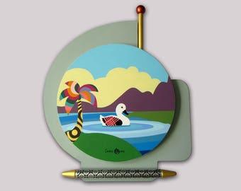 Abstract Seascape, Acrylic Seascape Painting, Original seascape Painting, Abstract Wall Art, 3D Wall Art, Wood Wall Art