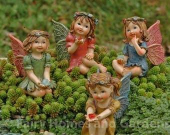 Miniature Jewel Fairies