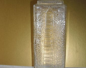 antique Esco Art Deco embalming bottle