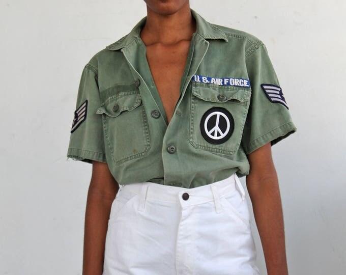 70s PEACE Fatigue Shirt