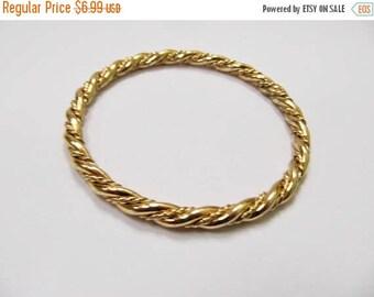On Sale MONET Vintage Twisted Bangle Bracelet Item K # 492