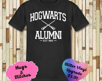 Hogwarts Alumni Harry Potter Shirt