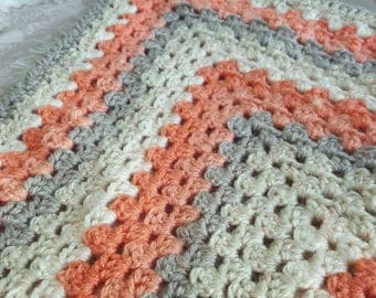 Gender Neutral Handmade Baby Blanket