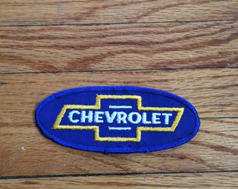 Vintage Chevrolet Vehicles Chevy Bowtie Patch (80's-90's)