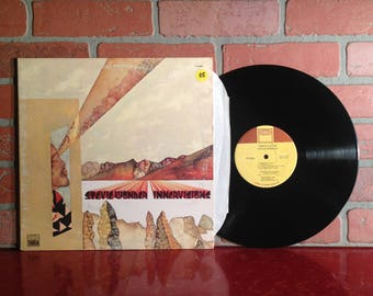 STEVIE WONDER Innervisions Vinyl Record Album LP 1973 Gatefold Tamla Higher Ground Funk Soul Pop Music Vintage