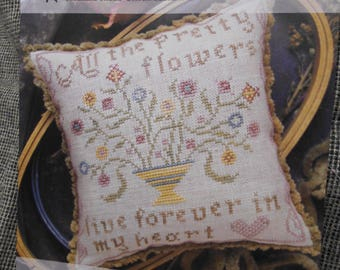 Spring/Floral Cross Stitch graph ~ 'All the Pretty Flowers' by Heartstring Samplery