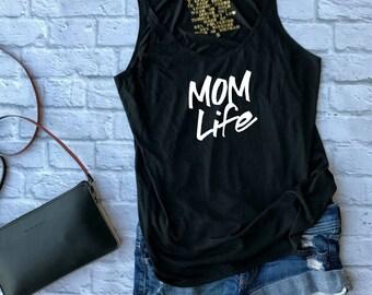 Mom life shirt - mom life tank - workout tank - gym, tank - gift for her - yoga tank - yoga tank top - mom life - mom life tee -