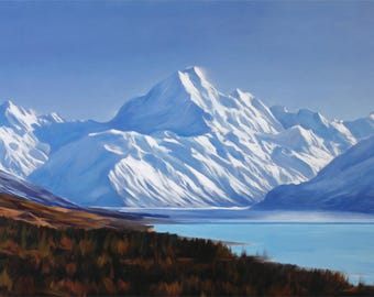 Custom Painting From Photo - Landscape Oil Painting on Canvas - Personalized Gift Idea