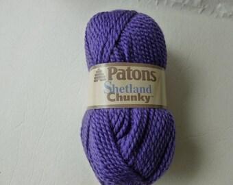 Yarn Sale  - Lilac Lace Shetland Chunky Yarn by Patons