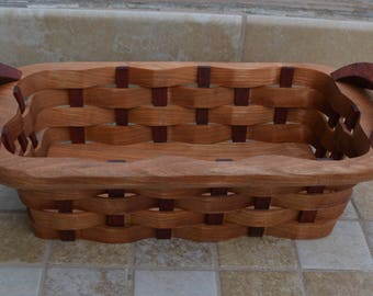 candy basket handles Cherry wood