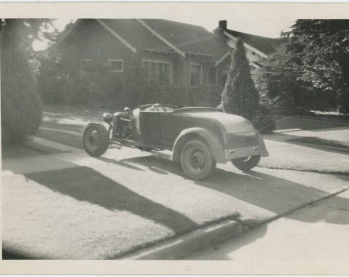 Vintage Snapshot Photo: Hot Rod [82652]
