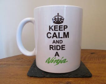 Keep Calm And Ride A Ninja Mug