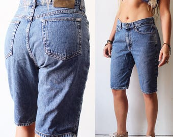 90s Calvin Klein boyfriend denim shorts