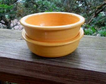 vintage fiesta small fruit bowls, side dishes