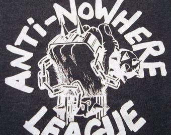 35% OFF Vintage Anti Nowhere League 1980 Promo T-shirt