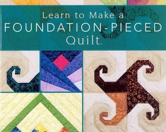 50% off Learn to make a Foundation-Pieced Quilt