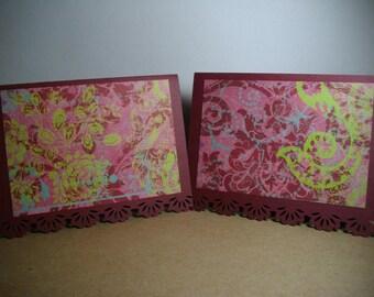 Elegant Expressions Berry 8-Card Box