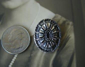Vintage West Germany Scarf Clip, Vintage Silver Scarf Clip, Vintage Fashion Scarf Clip