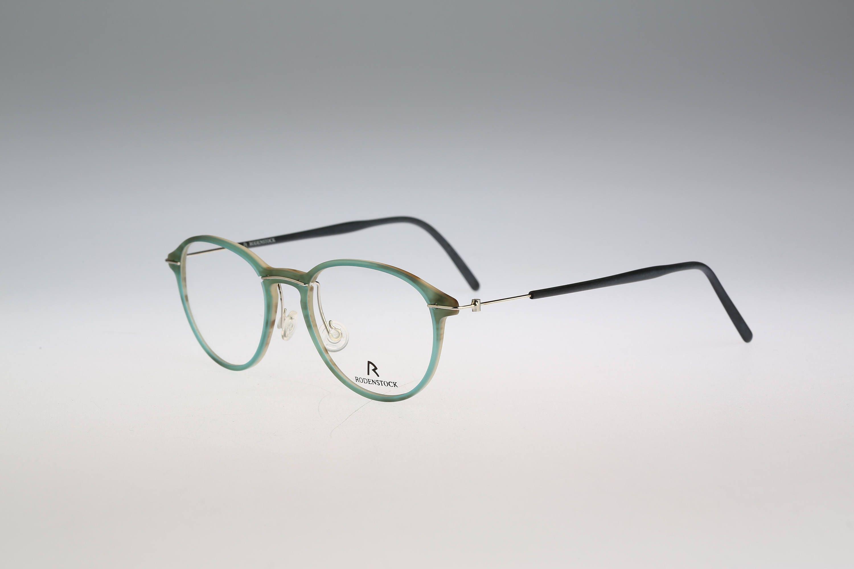 Rodenstock R7308 / Vintage eyeglasses / NOS / 90s round frame ...
