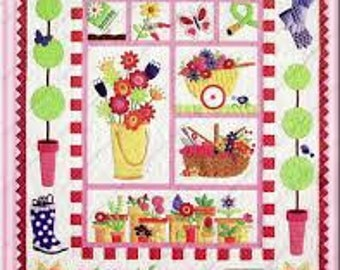 Garden Quilt by Amy Bradley