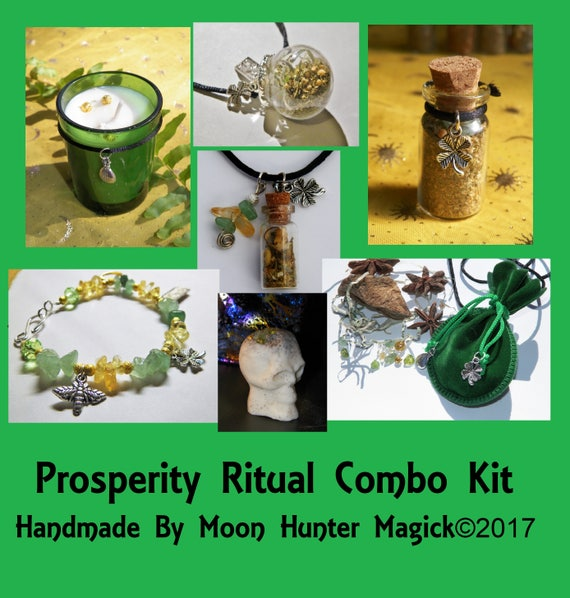 Prosperity Combo Kit Money Drawing Ritual Kit