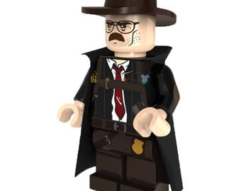 Batman - Commissioner James Gordon is a Batman Minifigure Custom Lego Toy & Collectible, Bricks Building Block Toy Set, DC Comics