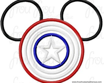 Captain America Mouse Custom embroidered Disney Inspired Vacation Shirts for the Family! 6