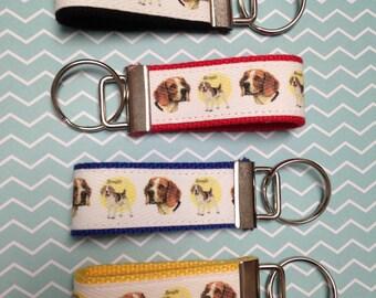 Beagle Keychain Fob