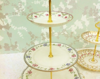 Early Aynsley Edwardian 3 Tier Cake Stand