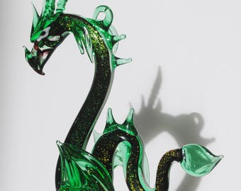 e36-910D Sea Dragon with Dichroic Glass