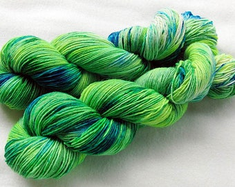 Handdyed SockYarn, 75 Wool, 25 Nylon 100g 3.5 oz. Nr. 169
