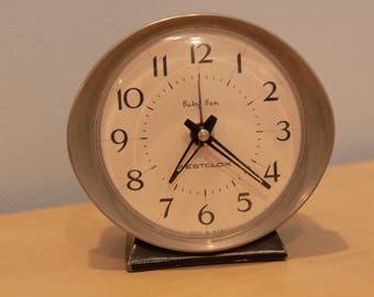 Vintage Mid-Century Baby Ben Alarm Clock