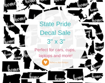 Home State Pride Decal