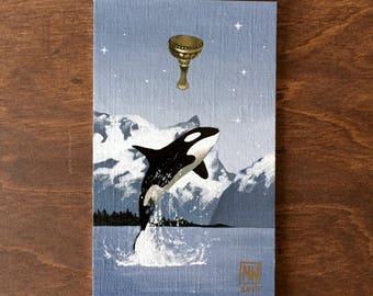 Tarot original - King of Cups - Anima Mundi tarot deck, minor arcana