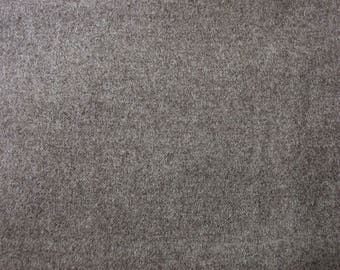 """1.5 Yard Piece 100% Wool Fabric Taupe 58"""" w Vintage Material"""