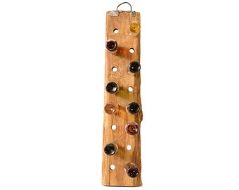 wooden wine stand wine bottle holder wine rack solid wood gift for