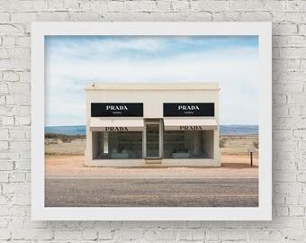 Prada Marfa, Prada Marfa Wall Art, Prada Marfa Print, Prada Marfa Art, Prada Marfa Photography, Prada Marfa Poster, Prada Marfa Texas