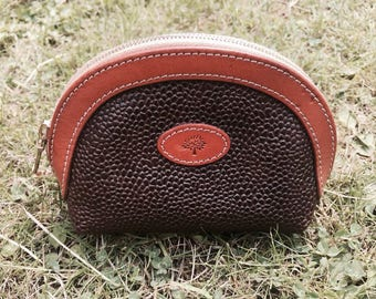 Beautiful vintage Leather Mulberry purse / pouch
