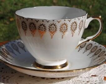 ROYAL VALE Bone China Teacup and Saucer