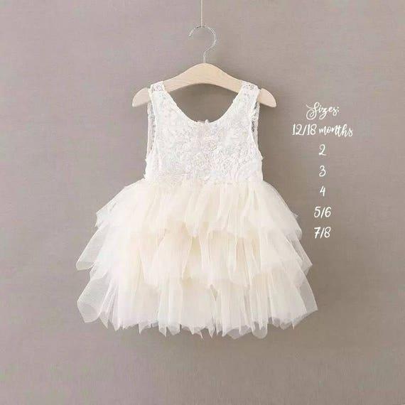 Pink Flower Girl Dress, Blush Flower Girl Dress, White Lace Flower Girl Dress, Pink Tulle Flower Girl Dress Rustic Flower Girl Wedding Dress