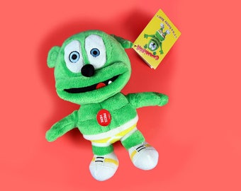 Gummibär (The Gummy Bear)Small Singing Plush Toy ~ Squeezer Toy