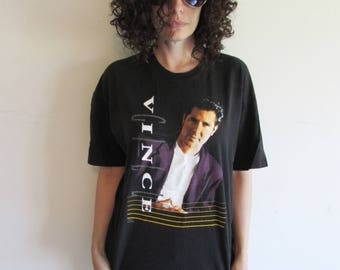 Vintage 90s Vince Gill Country Music Concert T Shirt